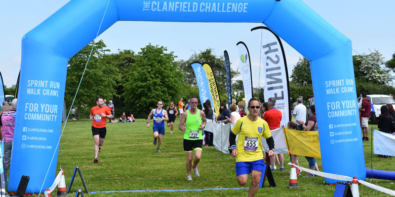 Enter the 2019 Clanfield Challenge