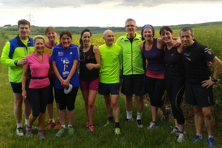 Clanfield Joggers Team